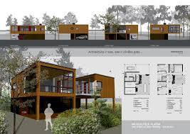 Architecture Portfolio Layout Indesign House Plans 74580