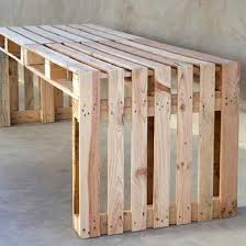 Simple Bench A pallet bench ranks low on the difficulty scale, making it a  great