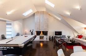 Attic Lighting Ideas Plush Design 20 How To Transform Your Into A Fun Game  Room