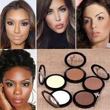 del feedback questions about dark skin cosmetic bronzer blush makeup brightener matte minerals whiten highlighting face powder bronzer contouring makeup