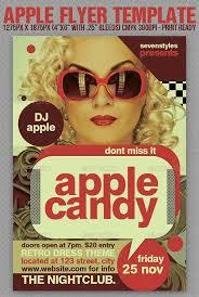 Apple Flyer Templates Top 10 Best Vintage Retro Psd Flyer Templates