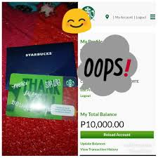 starbucks card with 10k load tickets vouchers gift cards