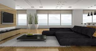 modern home design living room. Modern Living Room In Wide Space Home Design H