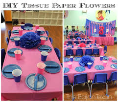 Party Decorations Tissue Paper Balls DIY Tissue Paper Flower Party Decor Video Tutorial The Bajan Texan 90