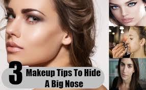 3 makeup tips tricks to hide a big nose