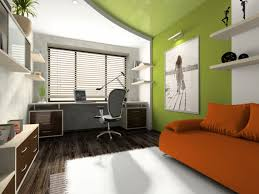 modern private home office. Home Office Makeover. Interior Of The Modern Private S