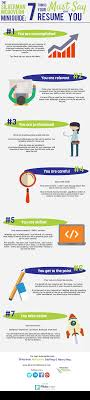 7 Things Your Resume Must Say About You Infographic Silverman
