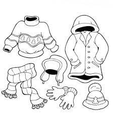 Small Picture Emejing Winter Clothing Coloring Pages Ideas New Printable