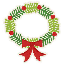 They're very festive and they can be used in all sorts of ways. Download Wreath Clipart Cute Cricut Christmas Wreath Svg Full Size Png Image Pngkit