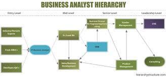 Business Analyst Hierarchy Designation Hierarchy