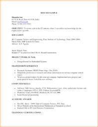 Ideas Of Resume Samples For Engineering Freshers Downloads Simple 10