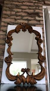 32x20 Frame Gold Wall Mirror Very Ornate 32 X 20 Distressed