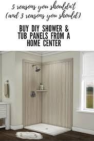 5 Reasons You Shouldn't Buy DIY Shower Tub Wall Panels at a Home ...