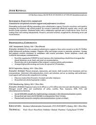 Sample Administrative Assistant Resume Administrative