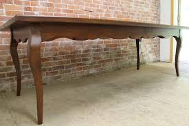 french country table with scalloped edge7