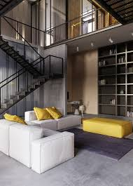 An IndustrialInspired Apartment With Sophisticated Style - Industrial apartment