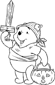 Printable Coloring Pages pirate coloring pages free : Halloween Pooh Pirate Costume Coloring Pages For Kids Free ...
