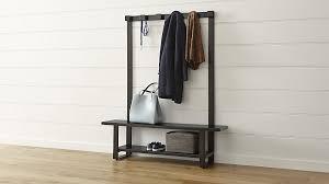 Storage Bench Coat Rack Mesmerizing Entry Way Table Storage Bench With Coat Rack Ideas To Decorate