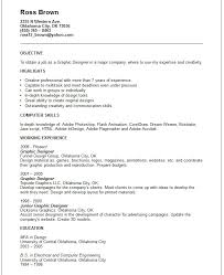 creative arts and graphic design resume examples graphic designer resume example