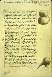 islamic medical manuscripts alchemy  folio 80b of ab363 al q257sim mu7717ammad ibn abd all257h al an7779257r299 s shar7717