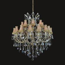 european style 24 1 lights golden teak crystal with lamp shades gold finish chandelier