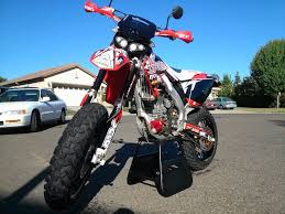 2005 street legal crf supermoto for sale