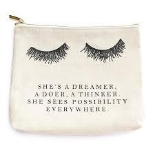 swd eyelash dreamer makeup bag