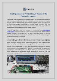 Smart Pcb Designs Pune Maharashtra The Importance Of Printed Circuit Boards In The Electronics