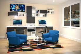 custom built desks home office. Custom Built Desk Dual Home Office Furniture Design Monitor Ideas With In Bookshelves Desks Build Dell