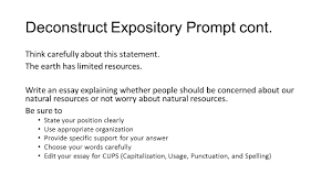 persuasive writing staar review ppt video online  13 deconstruct expository