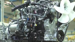 The Toyota Forklift 4Y Engine - YouTube