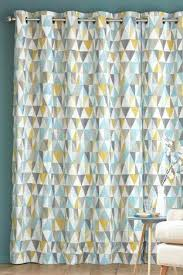 blue and gray curtains geometric curtain print next bedroom mood make house home homely neutral tones blue and gray curtains