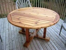 wood patio furniture plans. Round Wood Patio Table Wooden Plans . Furniture