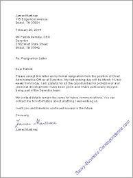 Resignation Letter Job Pinterest Resignation Letter