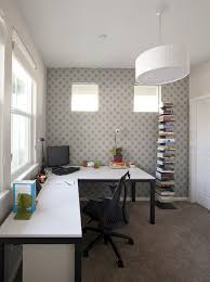 white home office with right chair and desk can make a big difference in the home beautiful relaxing home office