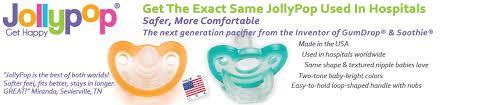 Jollypop Pacifiers Newborn Preemie Baby Pacifiers
