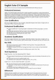 Teacher Cv 6 English Teacher Cv Penn Working Papers