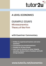 example a level economics essays economics theory of the firm example essays volume 1 for a level economics