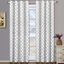 blackout curtains 108 inches inch white light gray grommet target ati home electra linen blackout curtain panel pair with grommet top