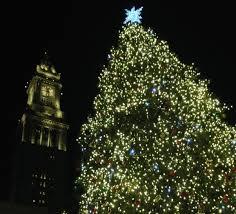 faneuil hall christmas tree lighting. Live Blog: Faneuil Hall Tree-lighting Celebration | Boston University News Service Christmas Tree Lighting I