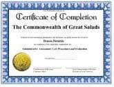 how to make a certificate of completion certificates of completion free printable certificates