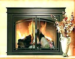 gas fireplace glass cleaner how