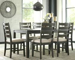 7 piece round dining table set furniture and chairs wooden kitchen tables freeport brown pedest
