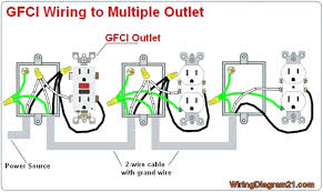 electrical wiring outlet multiple receptacle diagram how wire electric outlet wiring diagram electrical wiring outlet multiple receptacle diagram how wire throughout gfci receptacle wiring diagram within gfci outlet wiring diagram