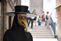 Image result for why did the black death doctor wear masks