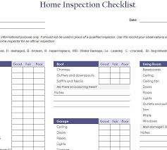 free home inspection checklist free home inspection checklist template diy projects pinterest