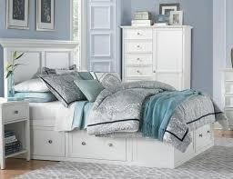 White King Storage Bed Abbott White Queen Storage Bed Art Van