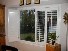 image of shutters for sliding glass doors decoration