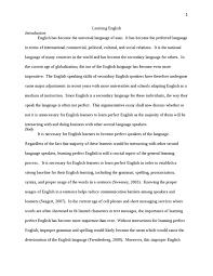 learning english essay   studentshare learning english essay example