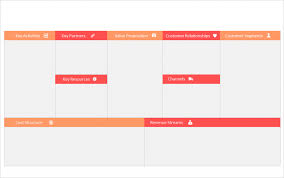 Revenue Model Template Business Model Canvas Ppt Template Free Editable